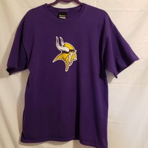 Reebok Vikings tee shirt  Allen 69  Size Medium